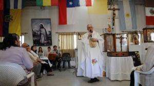 "Messa ""moderna"" del card. Bergoglio."