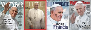 A cover pope.