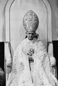 Portrait of Pope Paul VI
