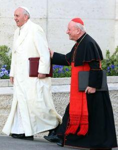 Papa Francesco e il cardinale Franc Rodè.