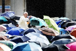 Vatican, St. Peter's Square - General Audience of Pope Francis