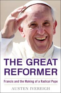 La copertina del libro di Ivereigh.