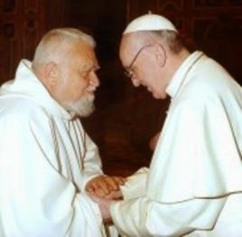 Papa Francesco e Enzo Bianchi