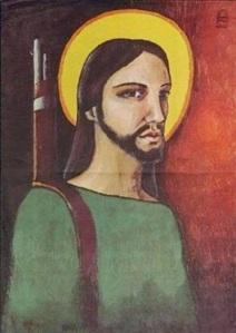Alfredo Rostgaard, Christ guerrilla, 1969.