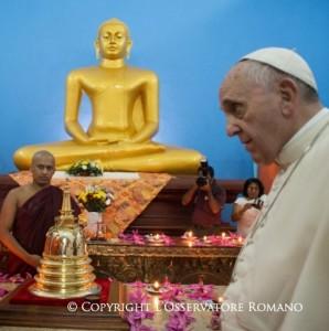 Se mi salvo anche con Buddha perché dovrei scegliere Cristo?