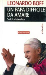 """Il libro di Boff contro Benedetto XVI tranquillamente venduto da tutte le librerie """"cattoliche""""."""