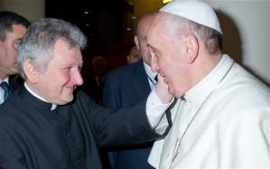 Battista Ricca e Papa Francesco