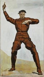 Ferdinand Hodler. The Orator (1912). Nationalgalerie, Berlin.