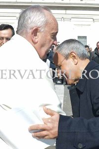 Papa Francesco e don Julian Carron