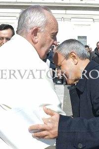 Papa Francesco e don Julian Carron