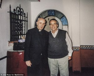 The Pope told Mr. Crespo, pictured here meeting the Pope, real name Jorge Bergoglio, when he was archbishop of Buenos Aires six years ago, that the ban on priests getting married was not 'doctrine'.