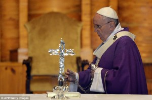 Mr. Crespo said that the Pope passed a message through him to a divorced woman that she could receive Holy Communion.