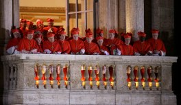 Alcuni cardinali elettori del conclave del 2013.