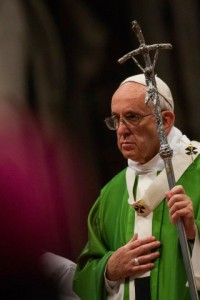 Pope Francis: Holy Mass for the conclusion of the Synod of Bishops.