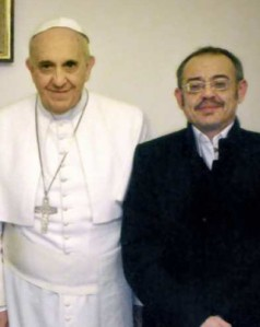 "Francis meets with a transsexual ""male"" (female to male), now known as ""Diago"""