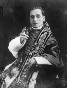 Benedetto XV, papa dal 1914 al 1922.