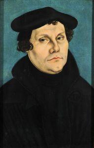 Martin Lutero (1483-1546). La beata Suor Serafini Micheli (1849-1911) vide la sua anima all'inferno, durante una visione mistica del 1883, mentre in Prussia festeggiavano festeggiano il 400° della nascita.