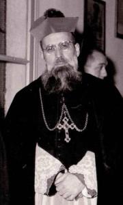Mons. Girolamo Bortignon (1905-1992): vescovo di Padova dal 1949 al 1982.