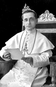 Ritratto di Benedetto XV (1914-1922).