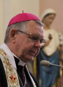 Mons. Tomasz Peta, arcivescovo di Astana e presidente dei vescovi del