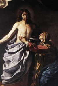 La Maddalena e il Risorto.