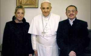 "Ecco la ""coppia"" di cui parla papa Francesco."
