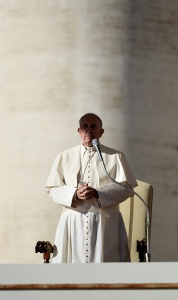 Pope Francis Celebrates A General Audience