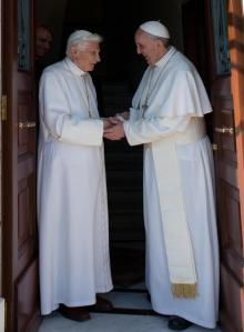 Rientro del Papa Emerito Benedetto XVI in Vaticano