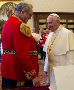 Bergoglio e Festing