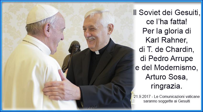 Il Soviet della nuova Compagnia di Bergoglio ha il controllo su tutto e su tutti
