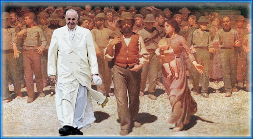 Avanti, pueblo, alla riscossa! Il Manifesto sponsorizza Papa Francesco