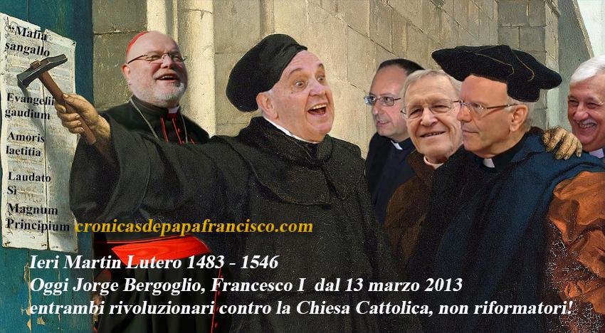 Dal federalismo dottrinale alla devolution liturgica. Papa Francesco rompe con i suoi 265 predecessori