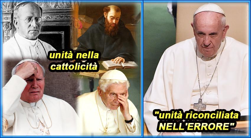 Confondere la dottrina con i pregiudizi fra cattolici e luterani è ingannare i fedeli