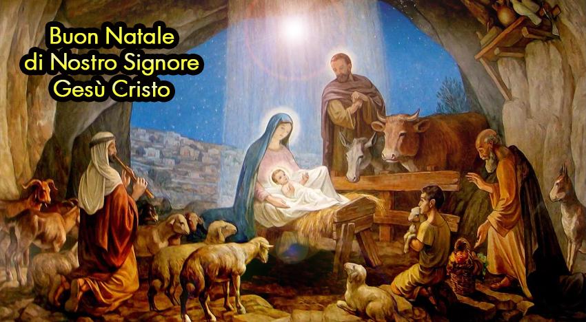 Nel presepe della neochiesa ci sono tutti, tranne Gesù Bambino