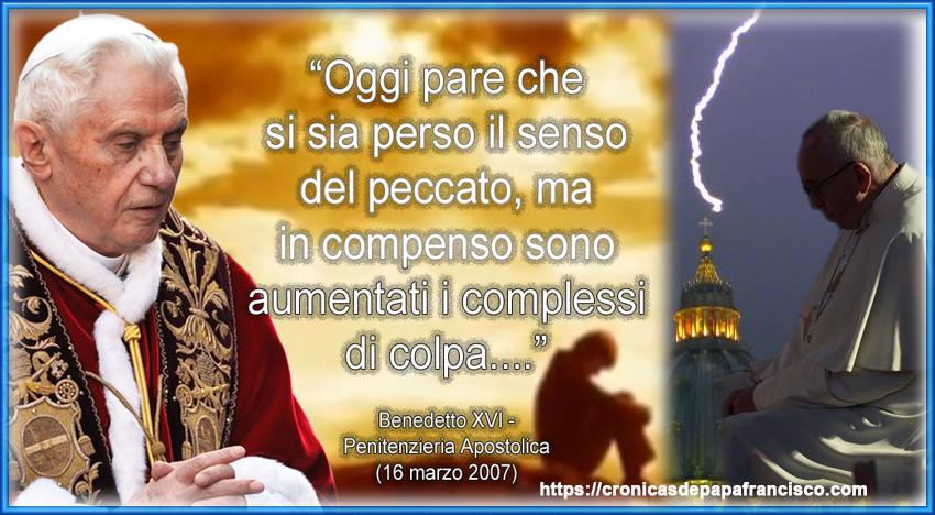 Insidia di Satana al Papa, non al papato