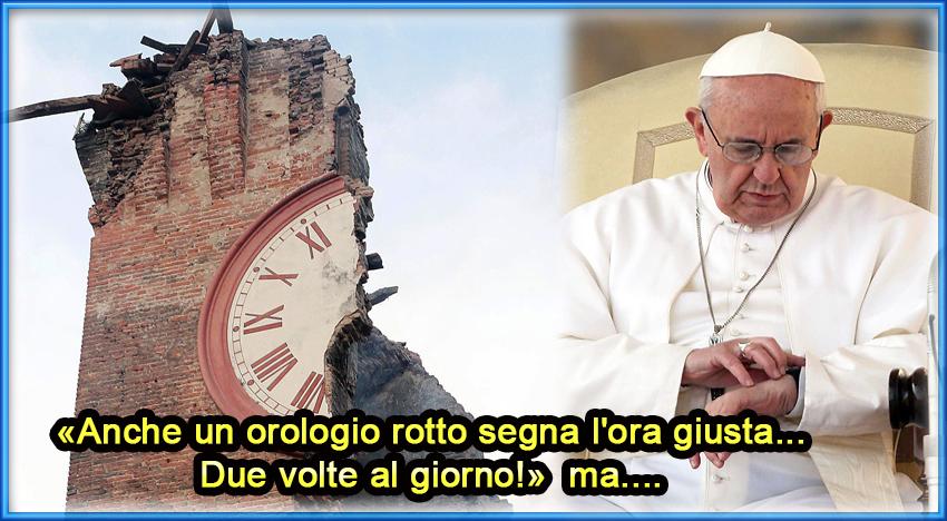 Le parole di Francesco al Forum Famiglia vanno lette bene, perchè…