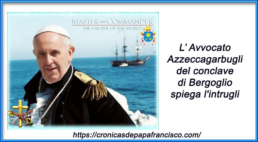 Avvocato Azzeccagarbugli del conclave di Bergoglio spiega l'intrugli