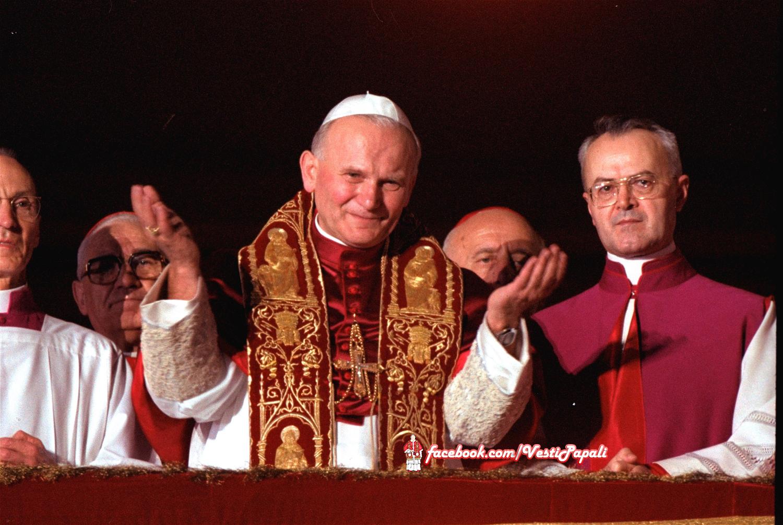 40 anni dalla elezione di Giovanni Paolo II