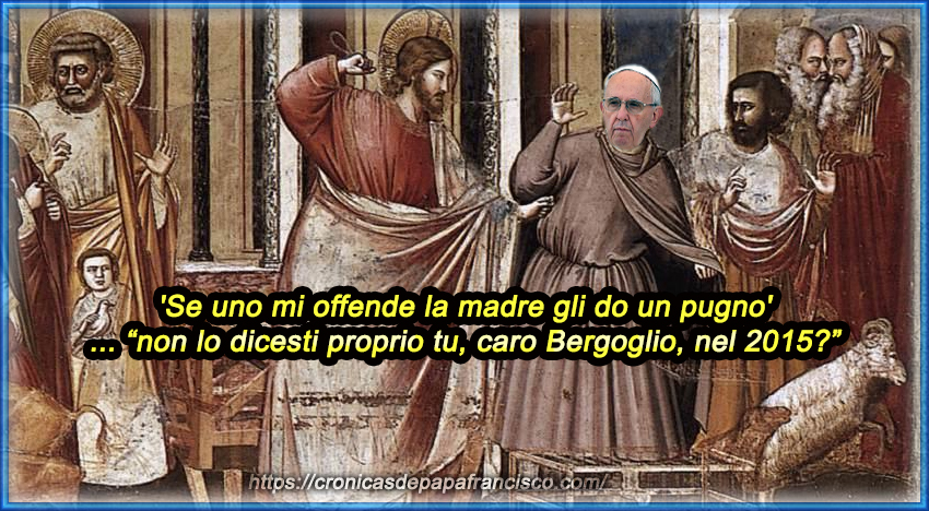 In uscita la nuova blasfema mariologia di papa Francesco