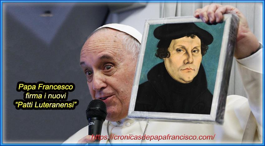 La canonizzazione di Martin Lutero