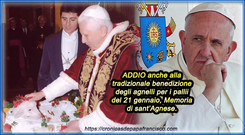 Aggiornamento abolizione Traditio Catholica da parte di Bergoglio