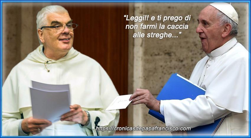 """Teologo Pontificio smentisce il Papa: """"Non ho mai ricevuto il testo"""""""