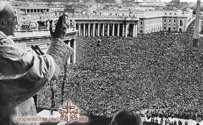 Pasqua 1956 Discorso e Benedizione Urbi et Orbi di Pio XII in audio