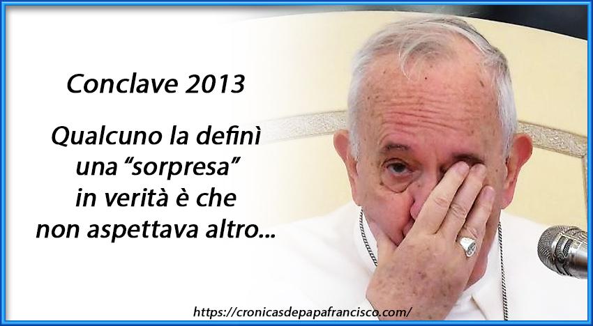 Al conclave del 2013 lo Spirito Santo trovò il papa già eletto?