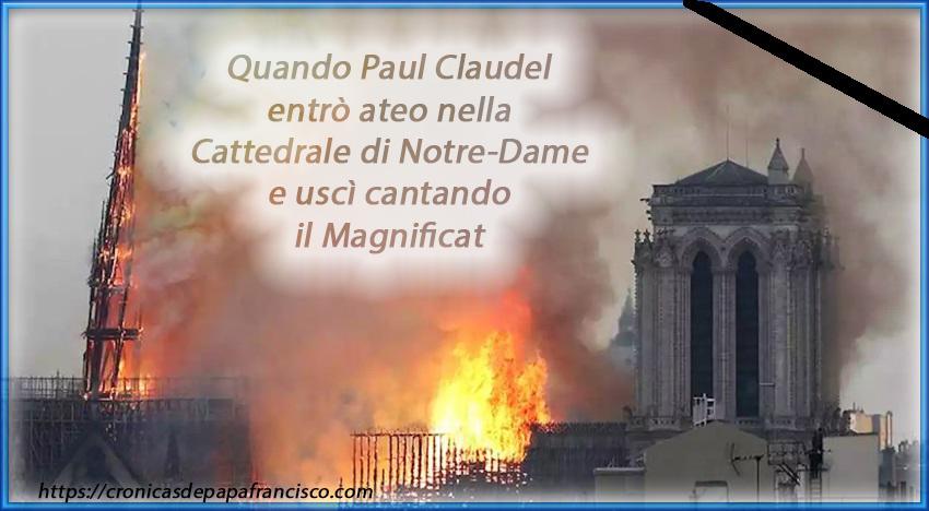 Il Magnificat di Paul Claudel a Notre-Dame