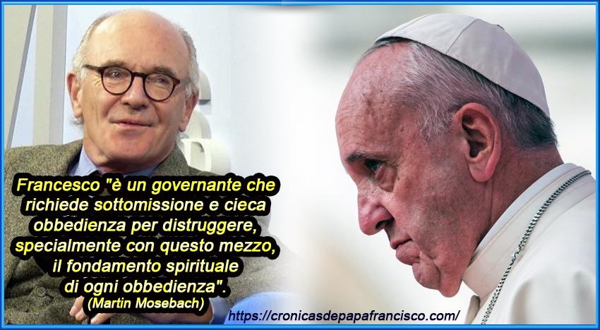 Domanda retorica: giocando con l'eresia, Bergoglio sta provocando uno scisma?