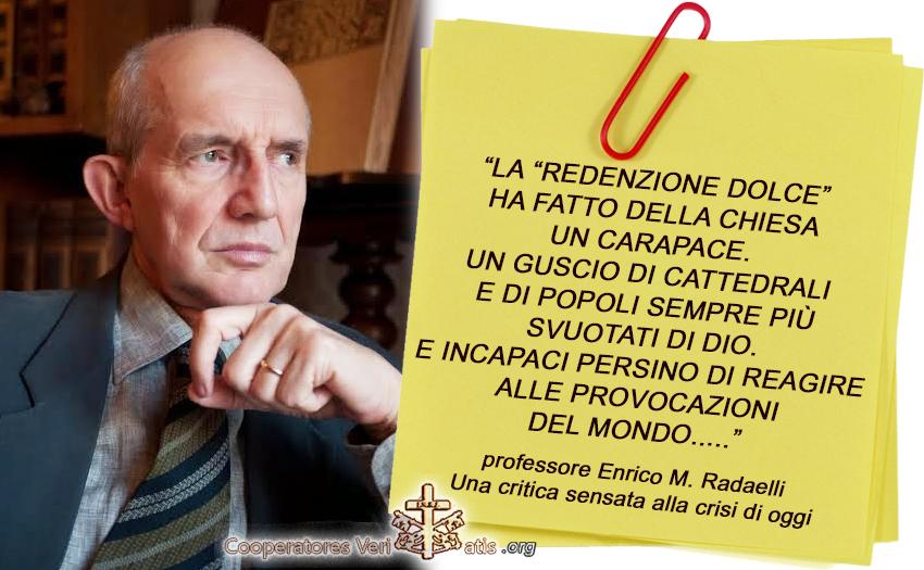 Ma il Papa è eretico: sì o no? Il prof. Radaelli spiega i limiti e invita ad andare alle radici del problema.