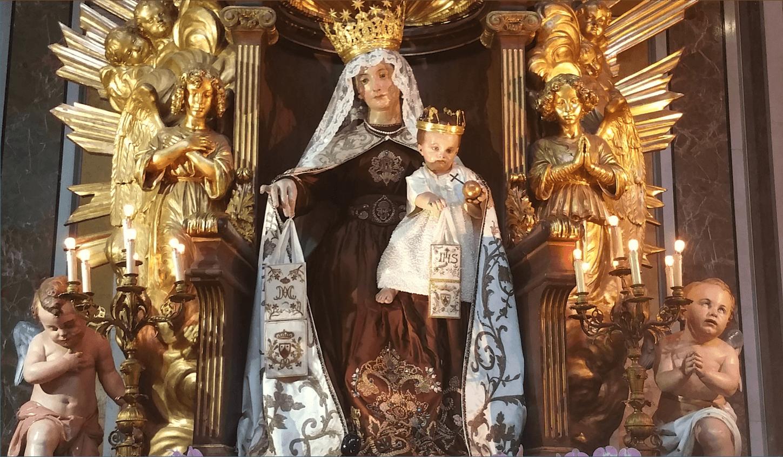 Sotto la Tua protezione ci rifugiamo… 16 luglio Beata Vergine del Monte Carmelo