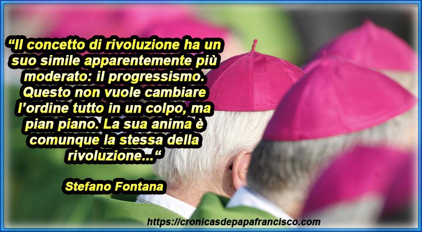 Veri nemici di Gesù, della Chiesa e del Papa, sono i rivoluzionari…