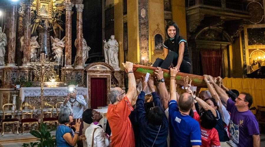 Profanata la Chiesa di Santa Maria in Traspontina: noi c'eravamo…